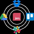 Connectez Jem avec vos outils du quotidien